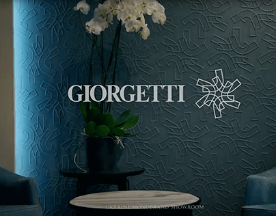 Interior video of Giorgetti monobrand showroom in Kyiv