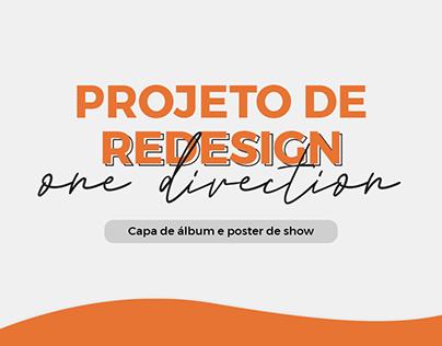 Projeto de Redesign Minimalista - One Direction