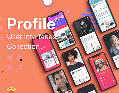 Profile Mobile UI Collection