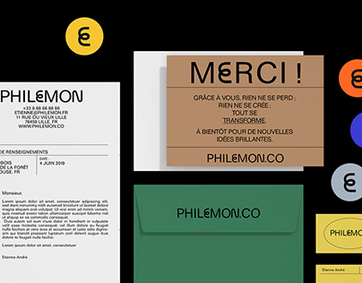PHILEMON - Branding + UX Design