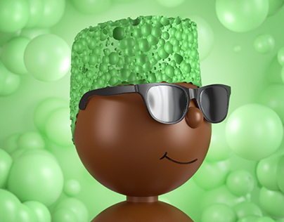 Chocolate bubbles characters