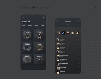Music App Ui Version - 2