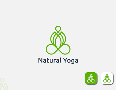 Yoga Logo Natural Yoga