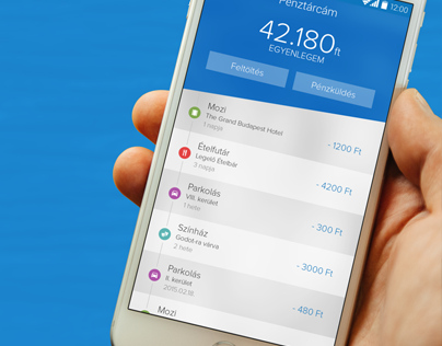 Eazy mobile payment application