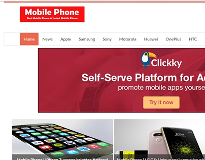 blogger template for mobile-company
