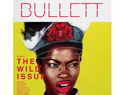 BULLETT magazine redesign