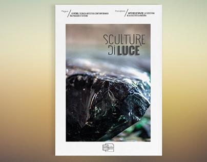 """Catalogo mostra arte contemporanea """"Sculture di Luce"""""""