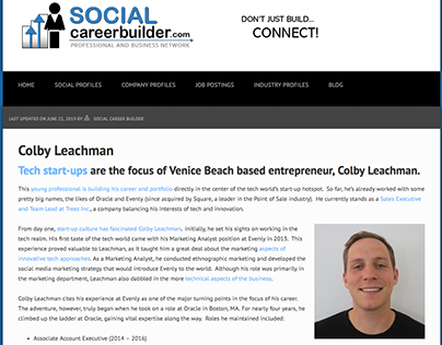 Social Career Builder