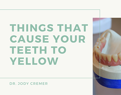 Things That Cause Your Teeth To Yellow