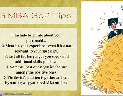 MBA SoP Writing Tips