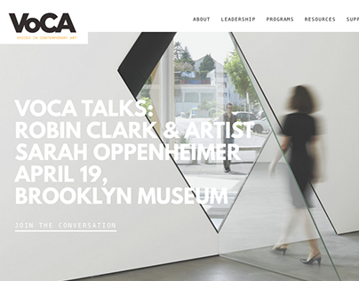 VoCA: Voices in Contemporary Art