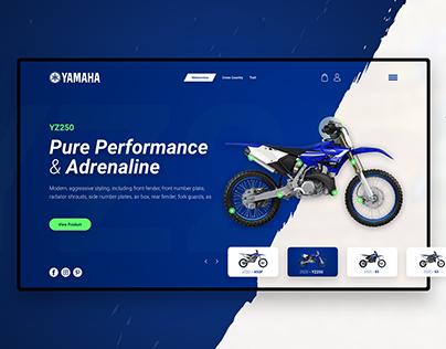 Yamaha MotorCross Website Redesign
