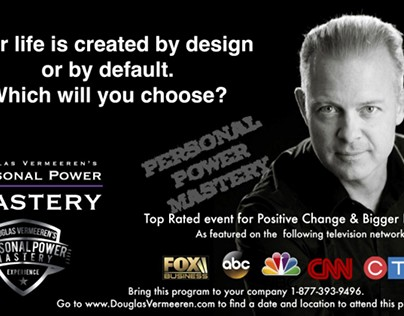 How are you creating your life? Personal Power Mastery