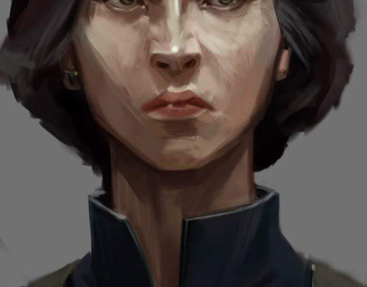 CG,sketch,copy by Sergey Kolesov