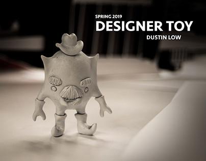 Hybrid designer toy
