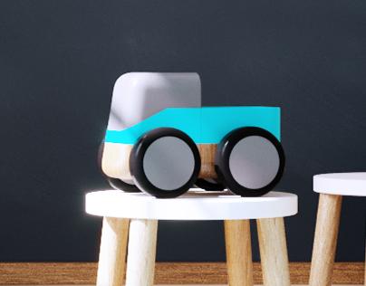 MODY - wooden toy vehicles