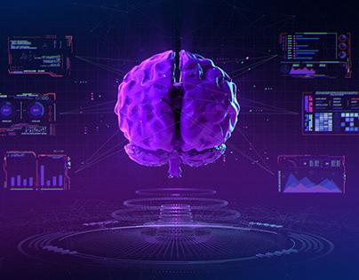 Cyberpunk Futuristic Interface Animation | Free Footage
