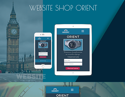 WEB Design site Orient MOBILE