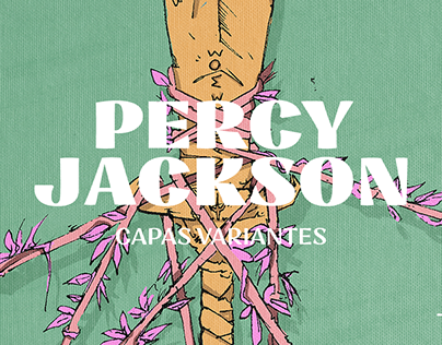 PERCY JACKSON - BOOK COVERS
