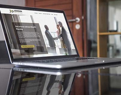 Johnson Benefit Planning Website Design