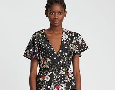 Zara Woman | Top print