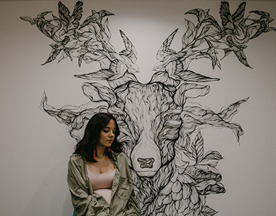 ENCHANTED FOREST / mural