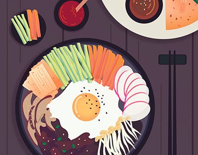 Feast: Illustration series about food