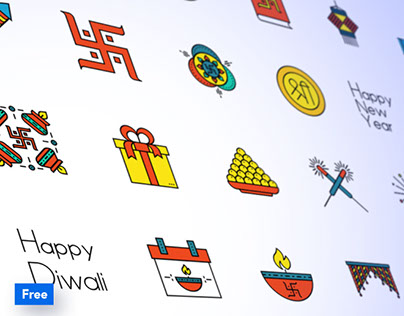 Free Diwali Iconpack