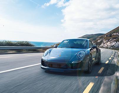 VRED, Porsche 911 | CGI, Photography, Retouching