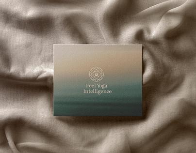 Feel Yoga Intelligence Logo Design
