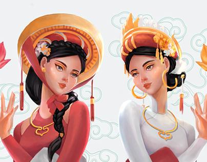 Vietnam Traditional series 01 - Tấm Cám