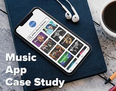 Music App Case Study