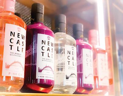 Newcastle Gin Brand Identity