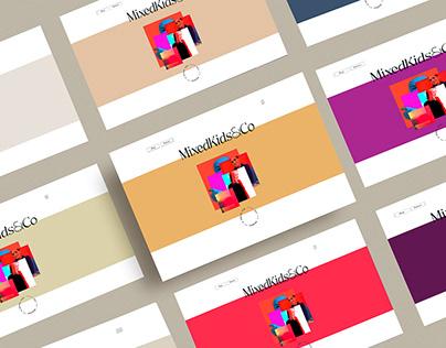 Brand Identity & Website: MixedKids&Co