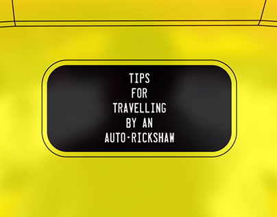 Tips for travelling by an Auto-Rickshaw