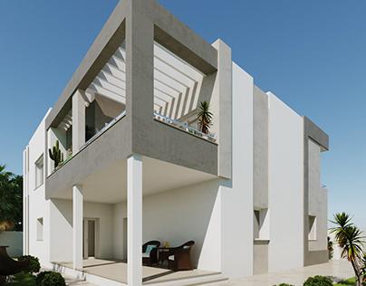 Villa R in Sfax
