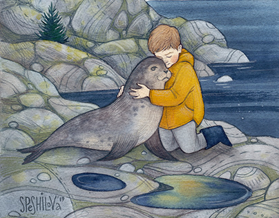 The Boy with the Seal