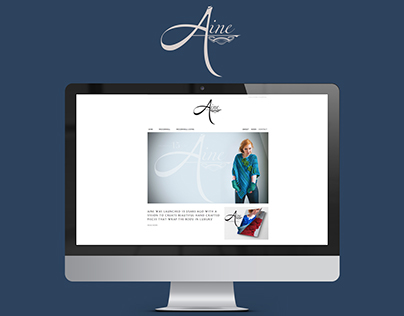 Website Design & Development for Aine