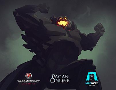 Pagan Online cutscene