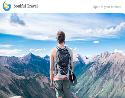 Mailchimp Template - Soulful Travel