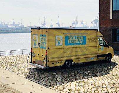 Golden Monkeys Foodtruck - Branding