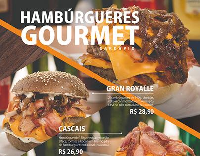 Cardápio Hambúrguer - Gran Royalle