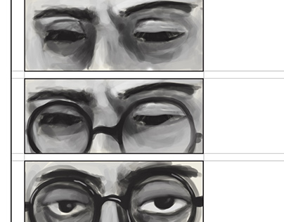 Manto Title Storyboard