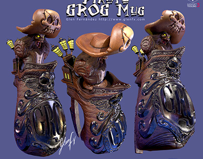 Pirate Grog Mug