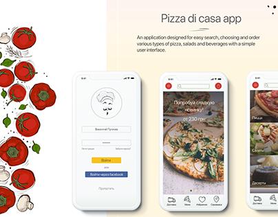 Pizza di casa app