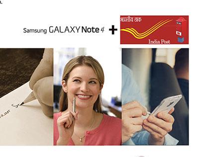 Letter of Joy I Samsung Galaxy Note4