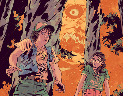 Stranger Things: Science Camp #3 Variant Cover