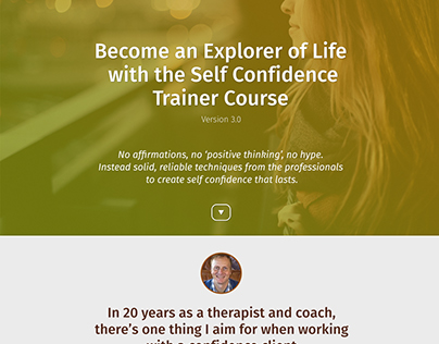 Trainer Course Landing Page