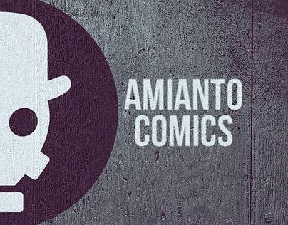 Amianto comics logo: (life, universe and everything)