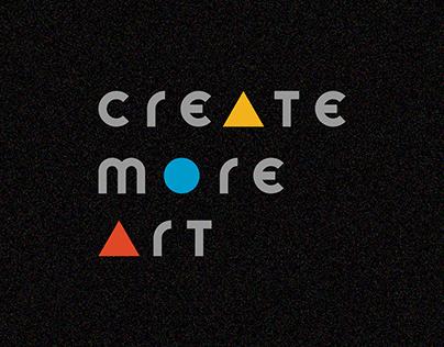 Bauhaus Poster | Create More Art, Consume More Art